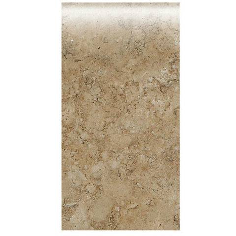 "American Olean Bordeaux 4 x 8 Marron Wall Bullnose - 4"" Side"