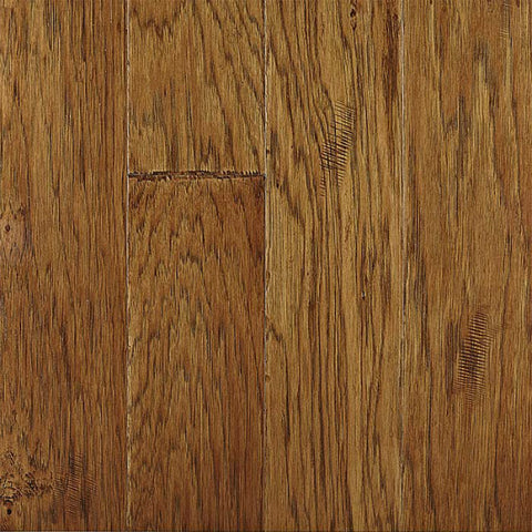 "Seneca Creek T&G Leathered Hickory 5"" Engineered Hardwood"