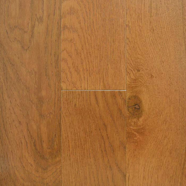"Center Street Gunstock White Oak 5"" Engineered Hardwood - American Fast Floors"
