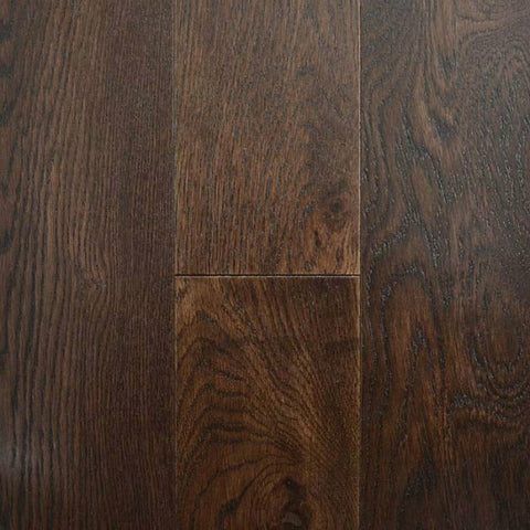 "Center Street Mocha White Oak 5"" Engineered Hardwood - American Fast Floors"