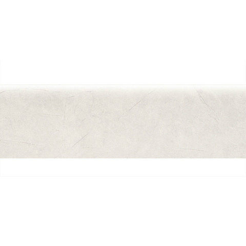 "American Olean Bevalo 3 x 10 Dove Wall Bullnose - 10"" Side"