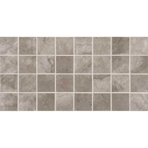 American Olean Bevalo Mist 3 X 3 Dot-Mounted Mosaic