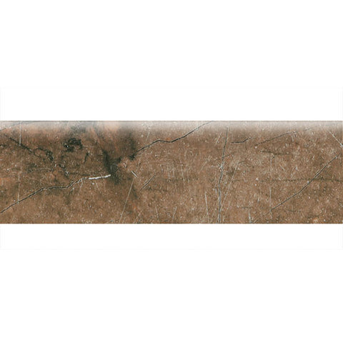 "American Olean Bevalo 3 x 10 Earth Wall Bullnose - 10"" Side - American Fast Floors"