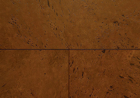 "WE Cork Timeless Collection 35.5"" X 7.5"" Baroque Sienna Greenshield Planks - American Fast Floors"