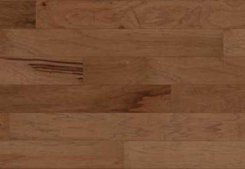 "Barton Hickory Mocha Hickory 5"" Engineered Hardwood"