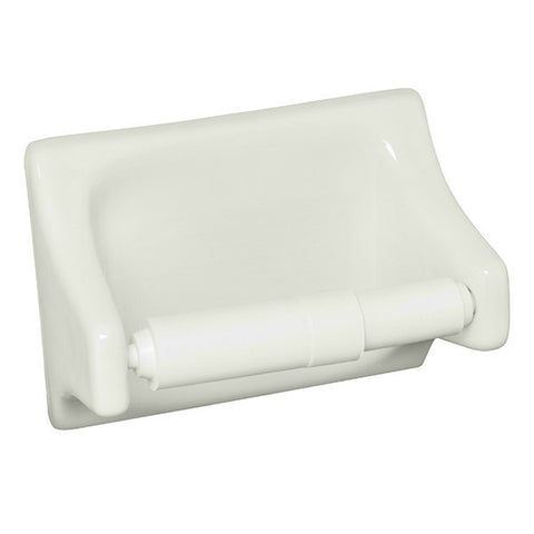 "Bath Fixtures 4""X6"" Bone Toilet Tissue Holder"