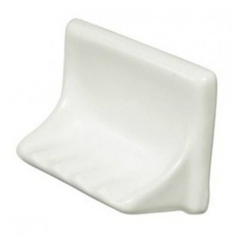 "Bath Fixtures 4""X6"" Bone Tub Soap Dish"