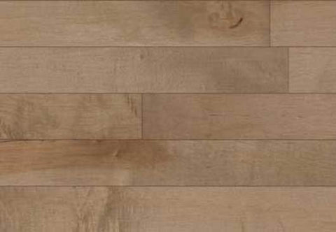 "Beckham Maple Champagne Maple 5"" Solid Hardwood - American Fast Floors"