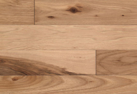 "Beckham Hickory Shortbread Hickory 5"" Solid Hardwood - American Fast Floors"