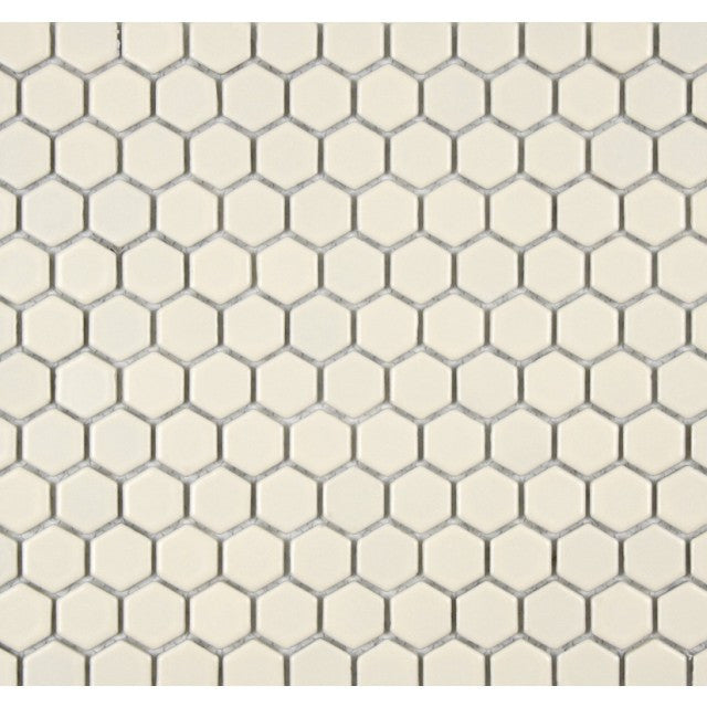 "Daltile Keystones 1"" Biscuit Hexagon Mosaic - American Fast Floors"