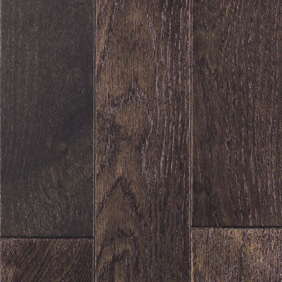 "Mullican Williamsburg 4"" Oak Black Pearl Solid Hardwood"
