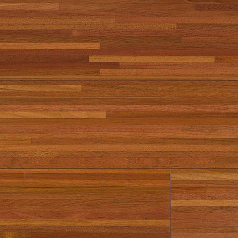 "Coterie Mosaics - Lines Brazilian Cherry 3/4"" x 5 3/4"" Stable Engineerd Plywood Core"