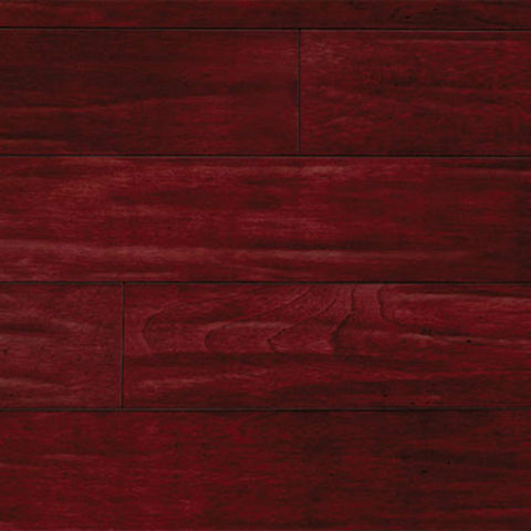 "IndusParquet Brazilian Cherry Rouge 1/2"" x 5"" Handscraped Engineered Hardwood"