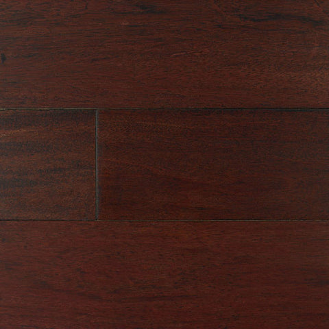 "IndusParquet Brazilian Cherry Rouge without French Bleed 1/2"" x 5"" Handscraped Engineered Hardwood"