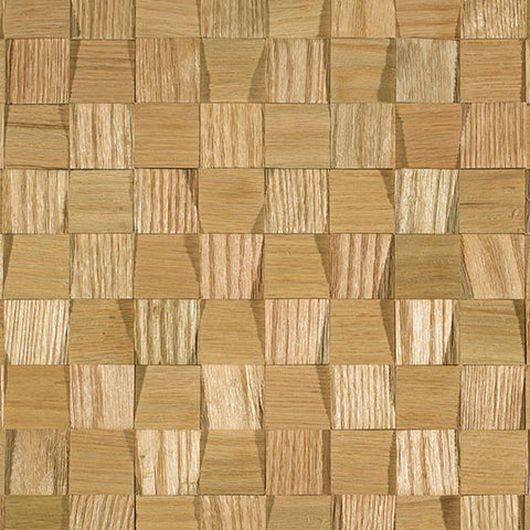 "Coterie Brazilian Oak 5/16"" x 1 3/4"" Sculptured Wall Treatments"