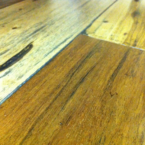 "IndusParquet Brazilian Pecan 1/2"" x 5"" Handscraped Engineered Hardwood - American Fast Floors"