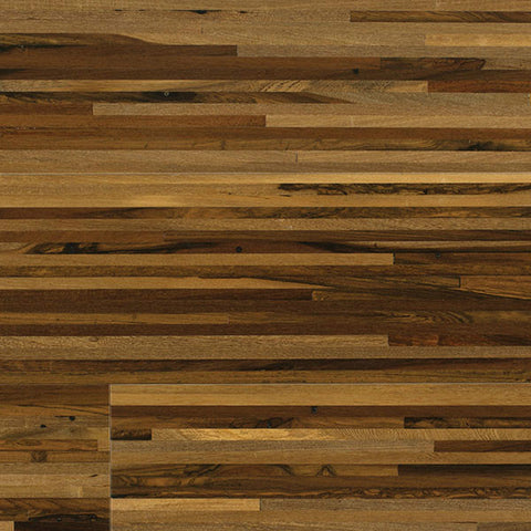 "Coterie Mosaics - Lines Brazilian Pecan 3/4"" x 5 3/4"" Stable Engineerd Plywood Core"