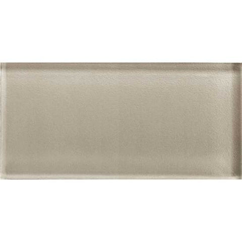American Olean Color Appeal 3 x 6 Oxford Tan Glass Field Tile