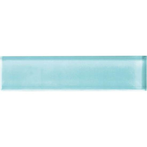 American Olean Color Appeal 2 x 8 Fountain Blue Glass Field Tile