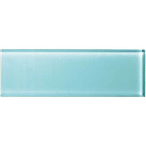 American Olean Color Appeal 4 x 12 Fountain Blue Glass Field Tile