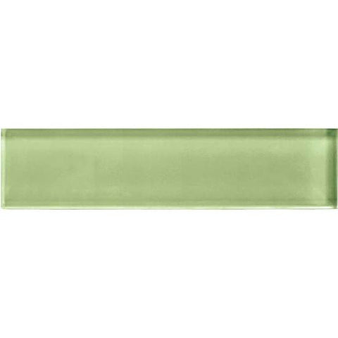 American Olean Color Appeal 2 x 8 Grasshopper Glass Field Tile