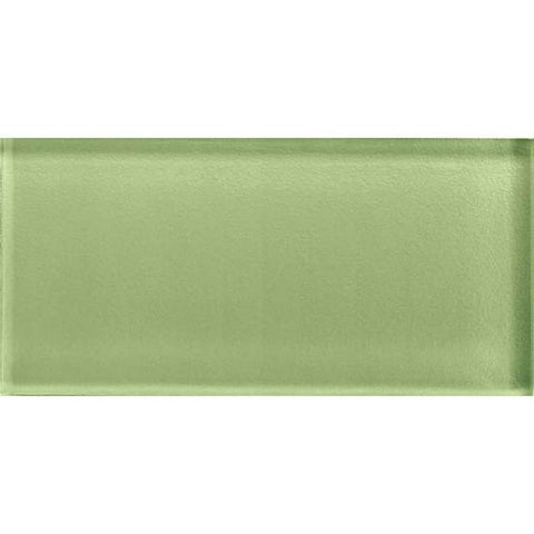 American Olean Color Appeal 3 x 6 Grasshopper Glass Field Tile - American Fast Floors