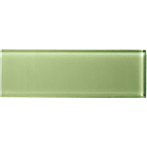 American Olean Color Appeal 4 x 12 Grasshopper Glass Field Tile
