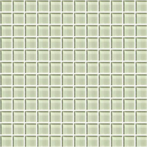 American Olean Color Appeal Celedon 1 X 1 Mesh-Mounted Mosaic - American Fast Floors