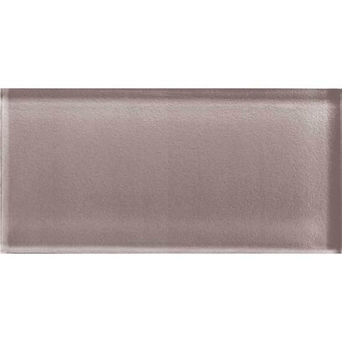 American Olean Color Appeal 3 x 6 Orchid Glass Field Tile