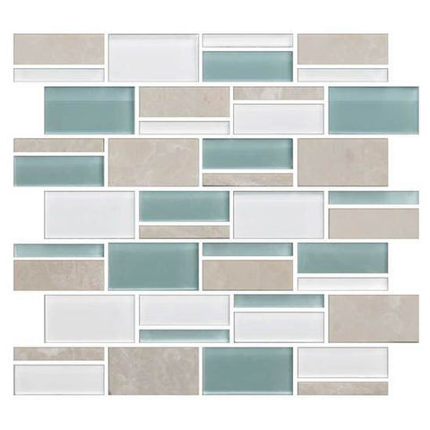 "American Olean Color Appeal Pacific Coast 3"" X Random Mosaic Blends"