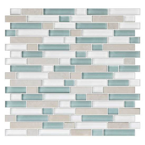 American Olean Color Appeal Pacific Coast 5/8 X Random Mosaic Blends