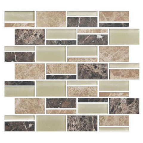 "American Olean Color Appeal Pebble Beach 3"" X Random Mosaic Blends - American Fast Floors"