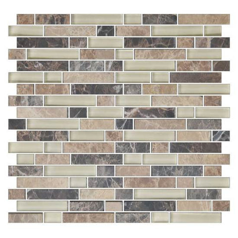 American Olean Color Appeal Pebble Beach 5/8 X Random Mosaic Blends
