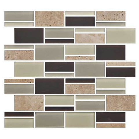 "American Olean Color Appeal Canyon Trail 3"" X Random Mosaic Blends"