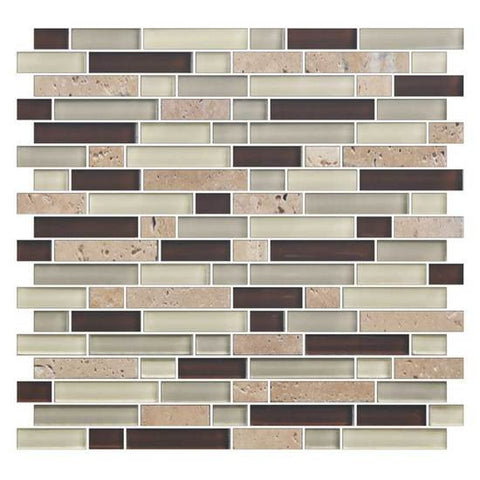American Olean Color Appeal Canyon Trail 5/8 X Random Mosaic Blends