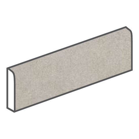American Olean Concrete Chic 3 x 12 Elegant Gray Surface Bullnose - American Fast Floors