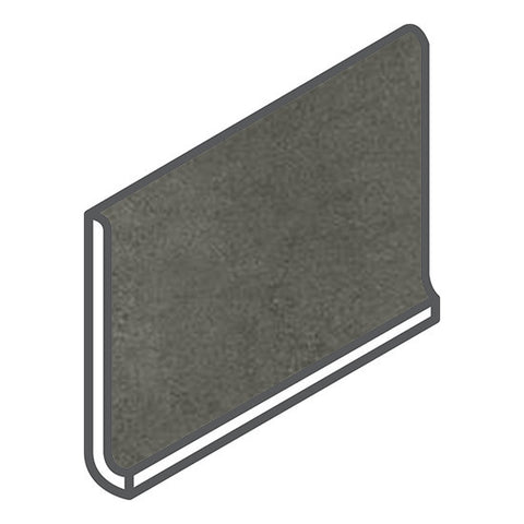 American Olean Concrete Chic 6 x 12 Stylish Charcoal Cove Base