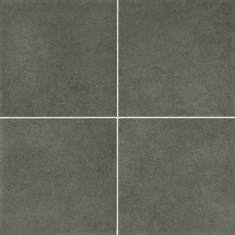 American Olean Concrete Chic 12 x 12 Stylish Charcoal Floor Tile