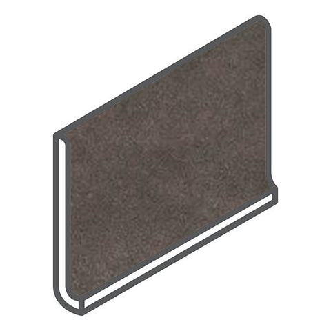 American Olean Concrete Chic 6 x 12 Vogue Brown Cove Base - American Fast Floors