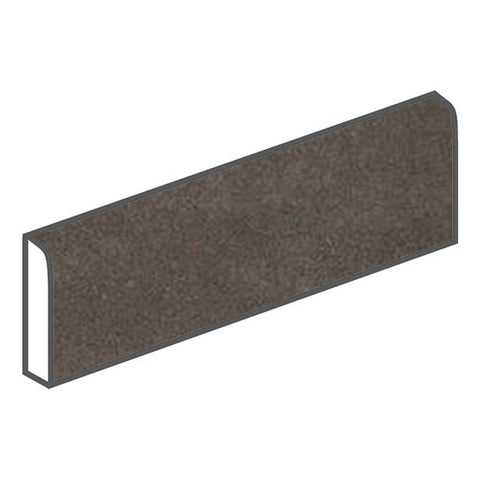 American Olean Concrete Chic 3 x 12 Vogue Brown Surface Bullnose