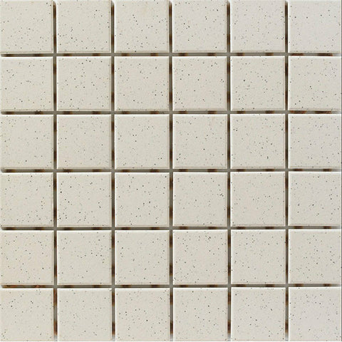 "CC Porcelain 2""X2"" Bone Speckle Cove Outside Corner"