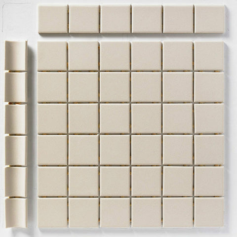 "CC Porcelain 2""X2"" Sand Cove Outside Corner"