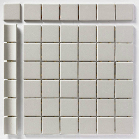 "CC Porcelain 2""X12"" Tender Grey Cove Base"
