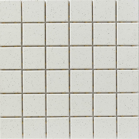 "CC Porcelain 2""X12"" White Speckle Cove Base"