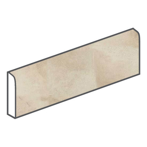 American Olean Fusion Cotto 3 x 12 Ecru Surface Bullnose - American Fast Floors