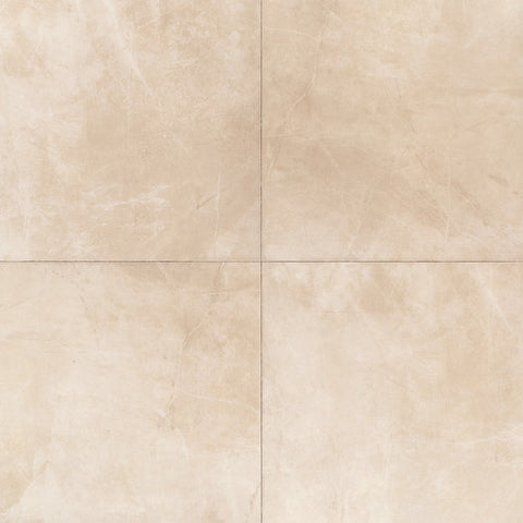 "Daltile Concrete Connection 6-1/2"" x 6-1/2"" Boulevard Beige Floor Tile - American Fast Floors"