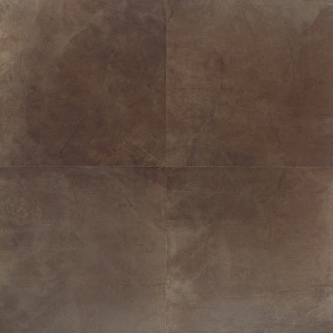 "Daltile Concrete Connection 6-1/2"" x 6-1/2"" Eastside Brown Floor Tile"