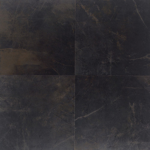 "Daltile Concrete Connection 3-1/4"" x 20"" Downtown Black Linear Options - American Fast Floors"