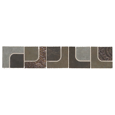 "Daltile Concrete Connection 2-1/2"" x 13"" Retro Cool Decorative Corner"