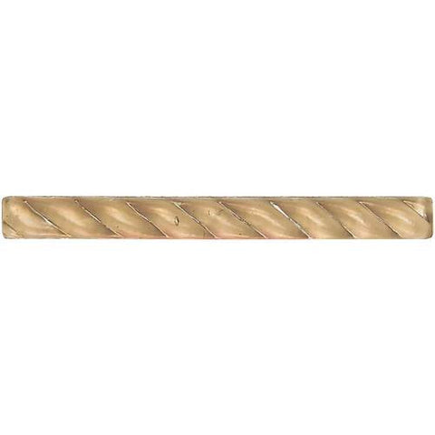 "Daltile Cristallo Select 3/4"" x 8"" Smoky Topaz Small Rope"